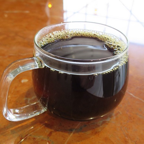すっきりしてて、適度な酸味があって、僕は好きだな。このコーヒーの味。 #ブルーボトルコーヒー