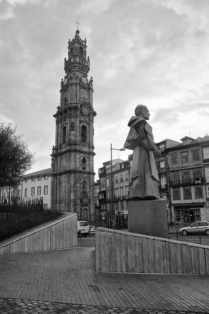Igreja dos Clérigos, Torre dos Clérigos. Porto. Portugal