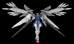XXXG-00W0 Wing Gundam Zero EW (Custom) (LDD Building Instructions)  by  Mithrylaltaire