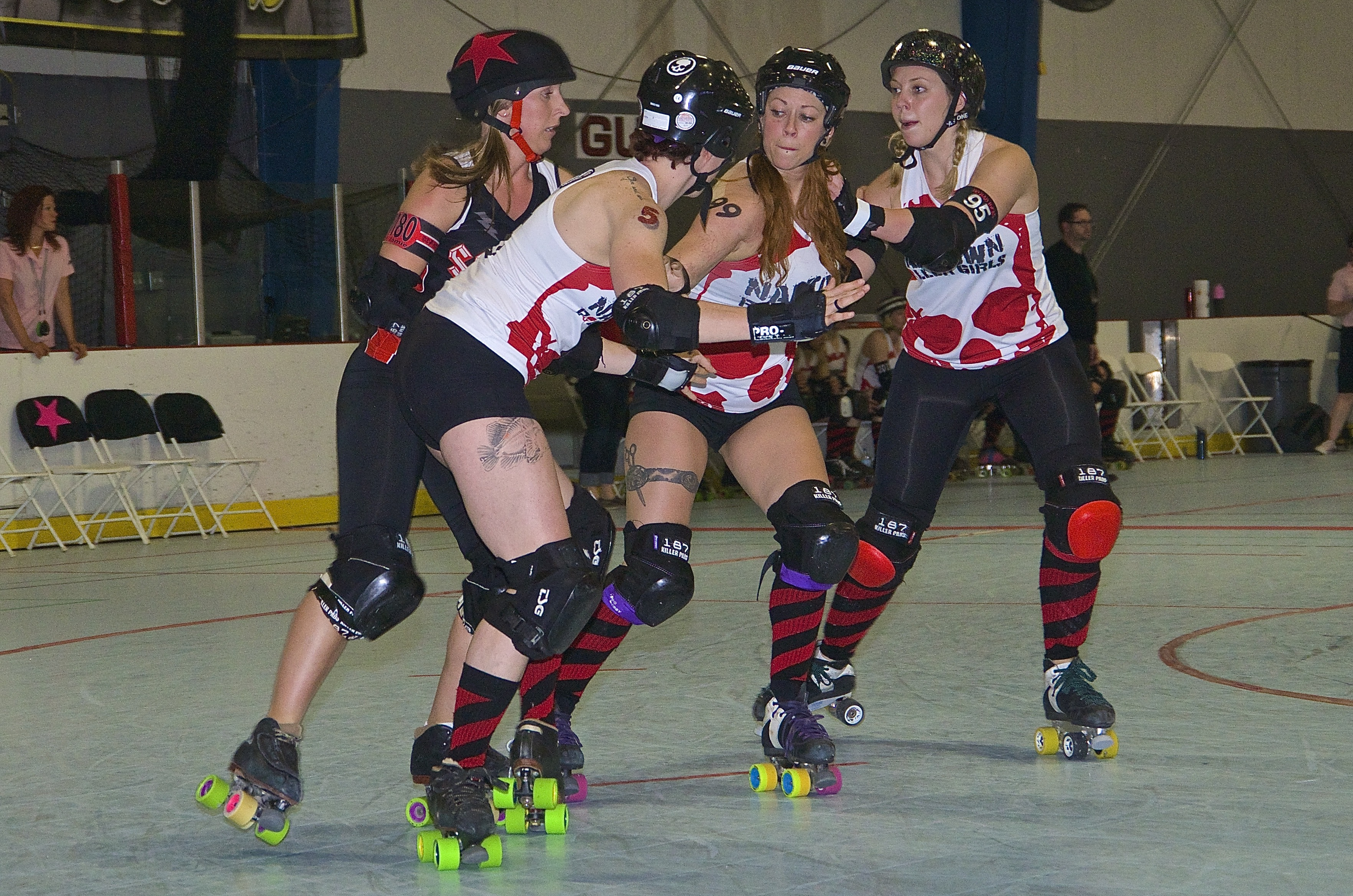 2015 04 11 Skate To Thrill Wftda Roller Derby Game 8 Sc Dc Vs Naptown 21 Flickr Photo