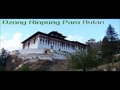 Bhutan Dzong Rinpung Paro