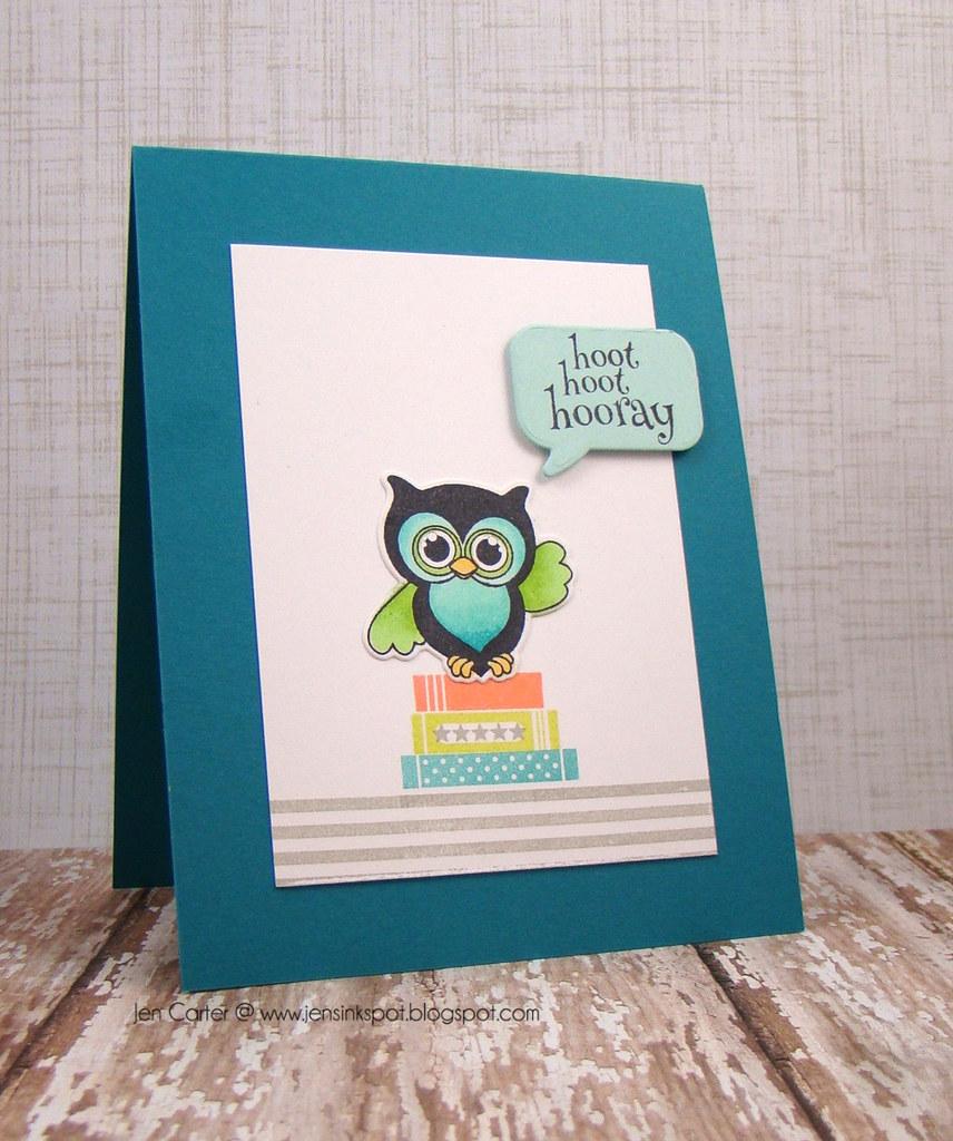 Jen Carter Whimsy Hoot Hoot Owl