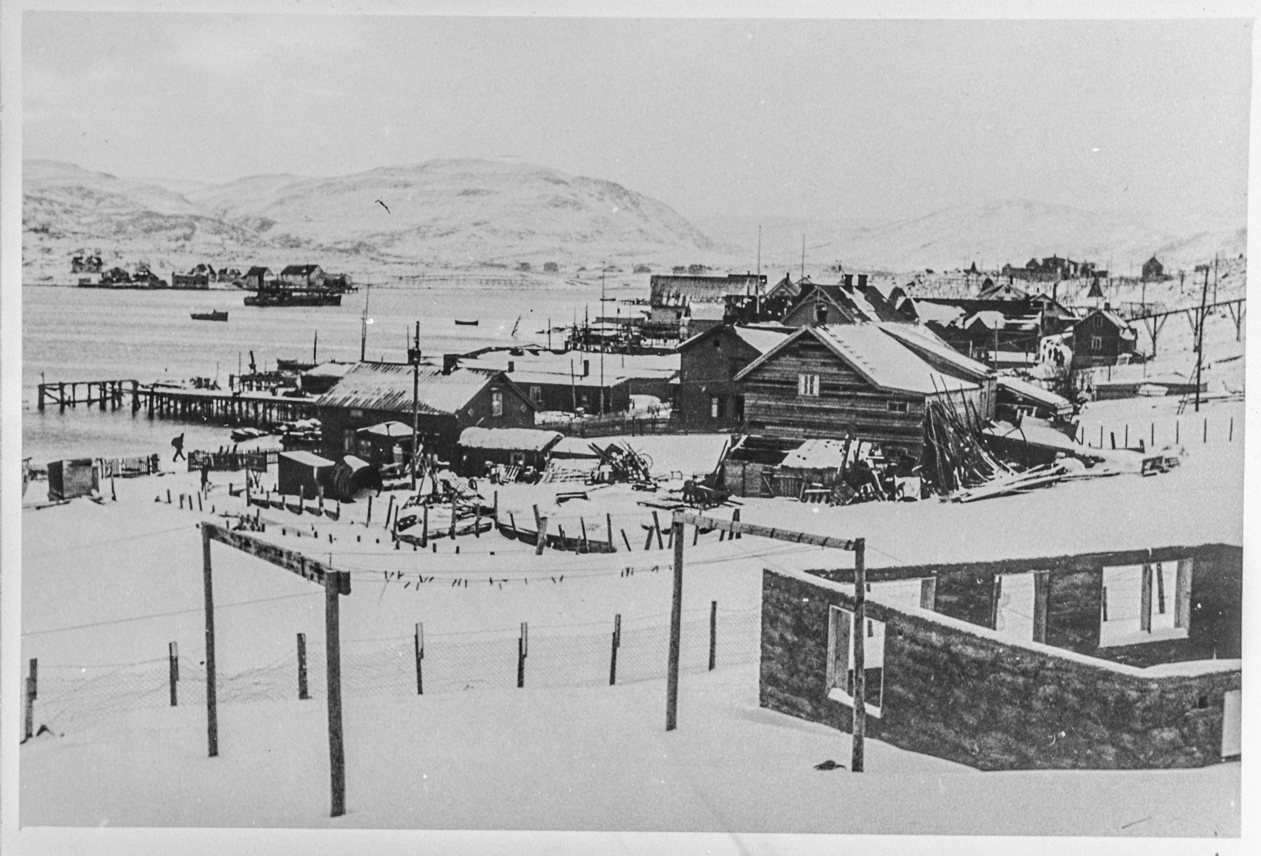 Båtsfjord i Finnmark reddet fra tyskerne