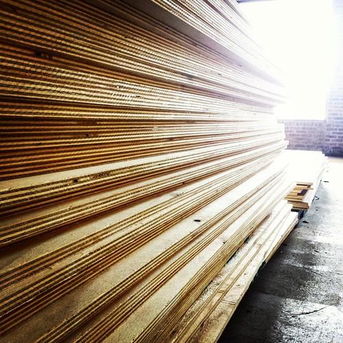 Lotsa lotsa lumber #wood #carpentry
