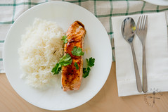 Pan-Fried Salmon with Asian Glaze