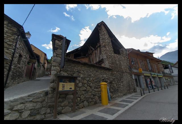 Barrio l'obago en Espot
