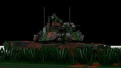 Woodland Camo M1A2 Abrams