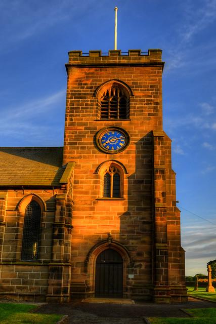 HOLY TRINITY CHURCH, HOGHTON, LANCASHIRE, ENGLAND.