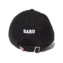 BAT SARU CAP バックにはSARUロゴの刺繍と星条旗タグが! 星条旗のタグがいいアクセントになってますね〜!! #santastic!#new#item#batsaru#cap#saru#starsandstripes#tokyo#shibuya#street#fashion