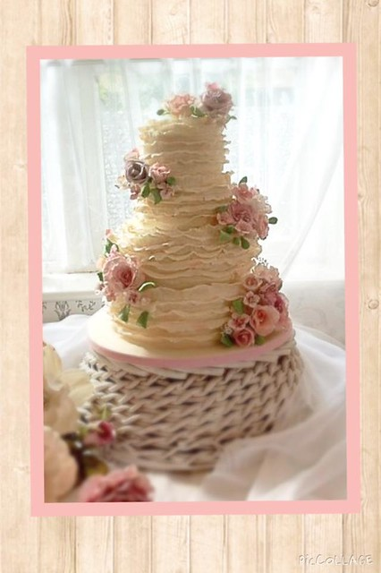 Wedding Cake for My Sister by Nanny's Novelty Cakes