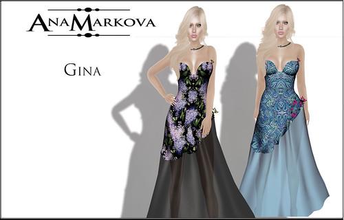 { AnaMarkova } Gina Gown