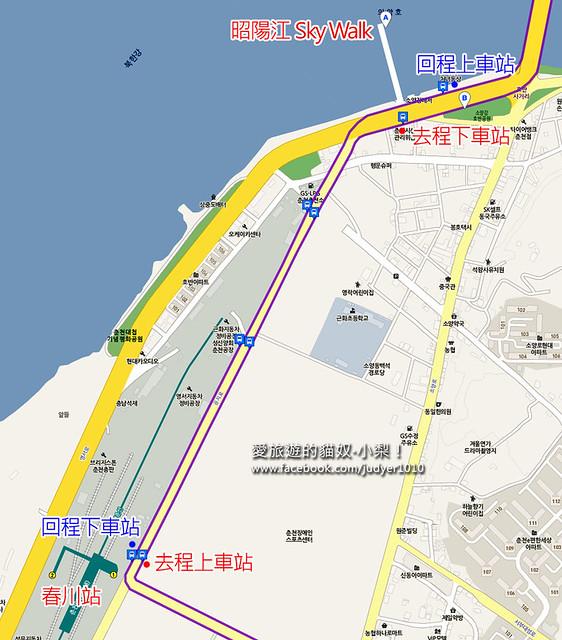春川站地圖