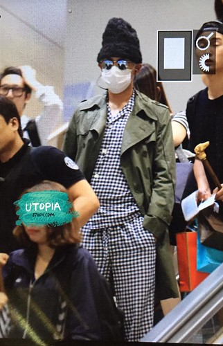 Big Bang - Incheon Airport - 26jul2015 - Utopia - 01