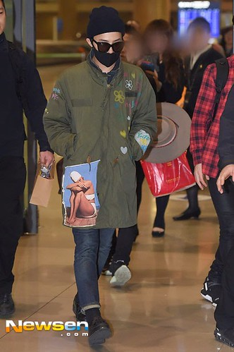 GD arriving Seoul from Fuzhou Press Pics 2015-03-29 014