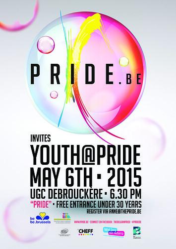 2015 Pride.be Youth@Pride 06/05/2015