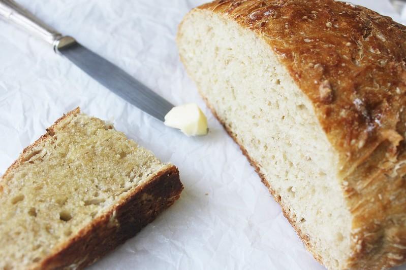 No-knead oatmeal bread-IMG_7180