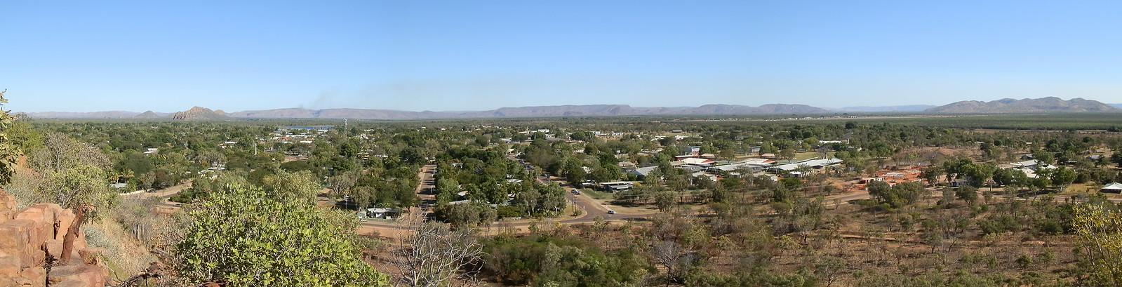 Kununurra from Kellys Knob Lookout, Kimberley, Western Australia