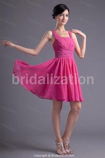 Fuchsia Illusion Sleeves Cocktail Party Inverted Triangle Special Occasion Dresses