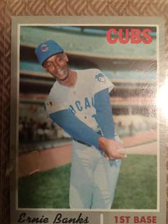 1970 Ernie Banks Topps card