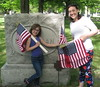 Flagging veterans graves