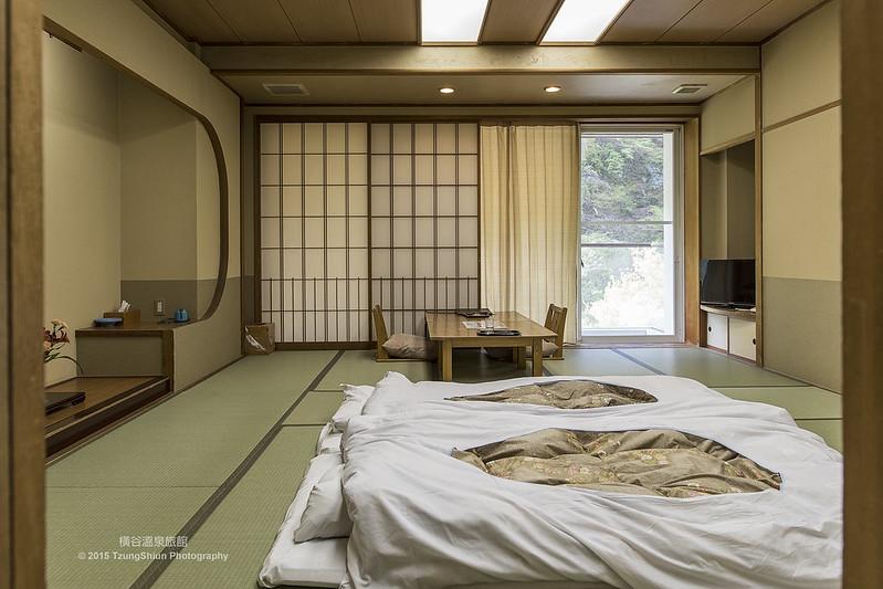 橫谷溫泉旅館 榻榻米二人房