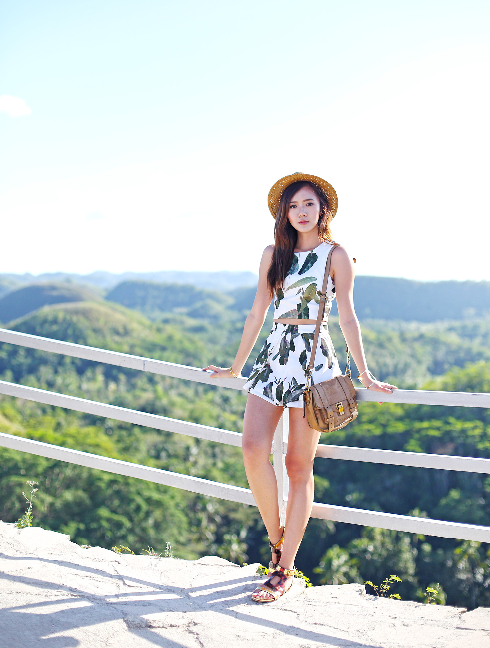 95244f2392 Her Fashion Box Outfit At Chocolate Hills - Camille Tries To Blog ...