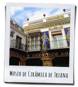 Het keramiekmuseum in de wijk Triana in de stad Sevilla