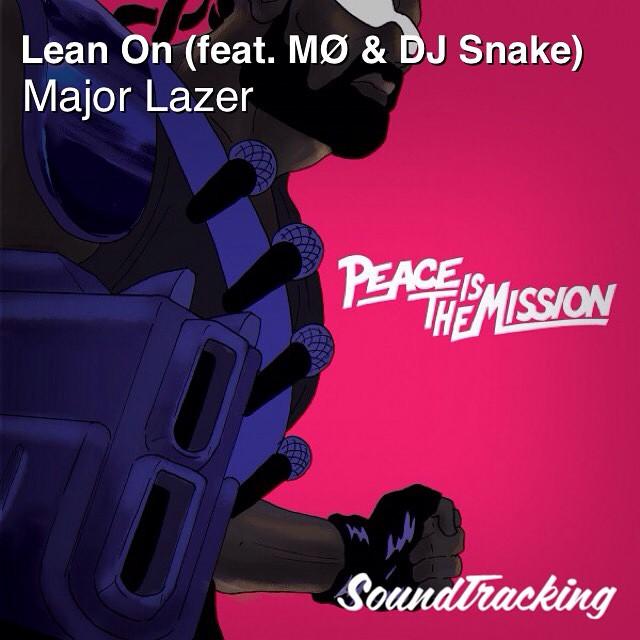 "#majorlazer #diplo #maddecent ♫ ""Lean On (feat. MØ & DJ Snake)"" by Major Lazer   via #soundtracking app"