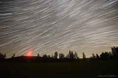 Filé d'étoiles au Mont Cornu