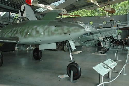 Messerschmitt Me-262A-1a and Bf-109 E3