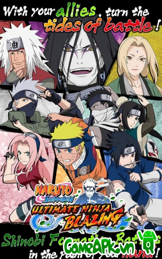 Ultimate Ninja Blazing v1.1.3 hack full cho Android