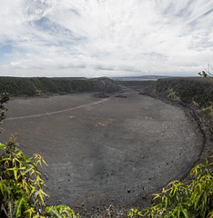 View of the Kilauea Iki Crater