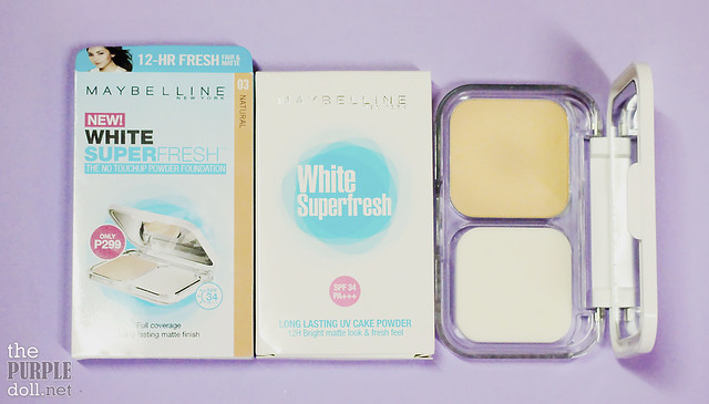 Maybelline White SuperFresh Powder Foundation Review