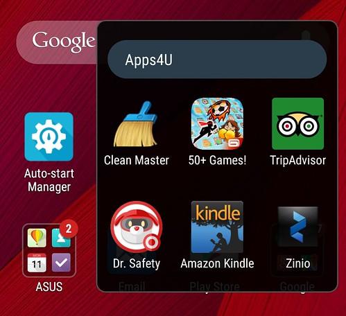 พวก App อื่นๆ ที่ Bundled มาใน ASUS Zenfone 2