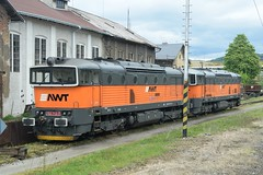 753 720-1 + 753 713-7 AWT (Advanced World Transport) Beroun,CZ 01.05.15