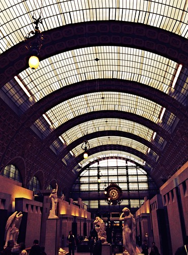 Ceiling of the Musee d'Orsay