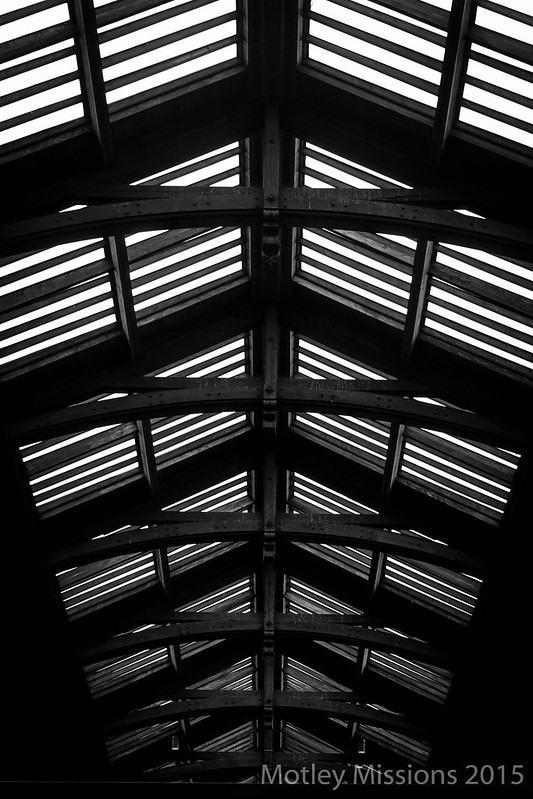 train station ceiling