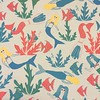 Mermaids! Got it done just in time! #Spoonflower #fabric #fabricdesign #drawing #mermaids #design #surfacepattern #illustration #art