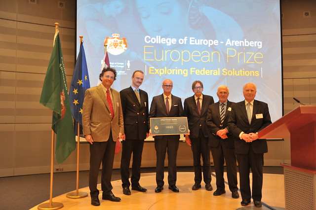 College of Europe | Arenberg European Prize Award Ceremony 3 June 2015
