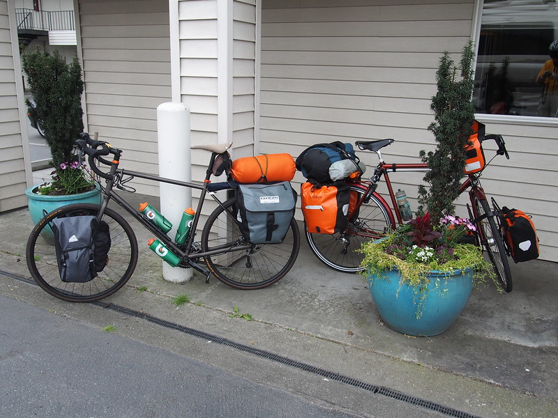 Touring Bikes: Awaiting their riders