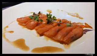 Restaurante Lavaca verano - Salmón marinado