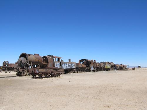 Uyuni: un cimetière de trains
