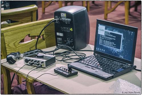 Robin Parmar's instruments