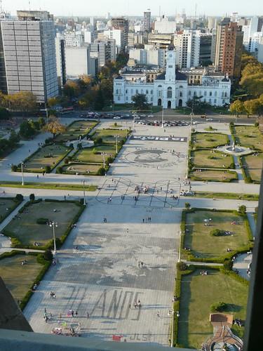 Plaza Moreno et Palais Municipal