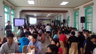 氣候與能源世界公民高峰會台南場討論實況。攝影:王振益。