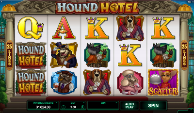 Hound Hotel slot game online review
