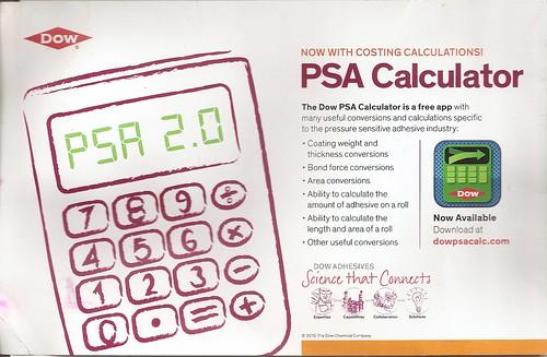 PSA Calculator Dow PSTC 060815