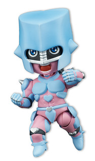 Minissimo Series 《JoJo的奇妙冒險》第四部「不滅鑽石」瘋狂鑽石(電視版本) 登場!