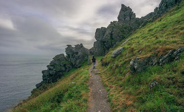 Sharp Tor, South-West Coastal path
