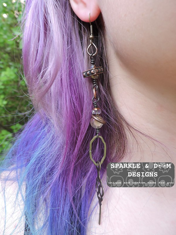 Steampunk Earrings 01b